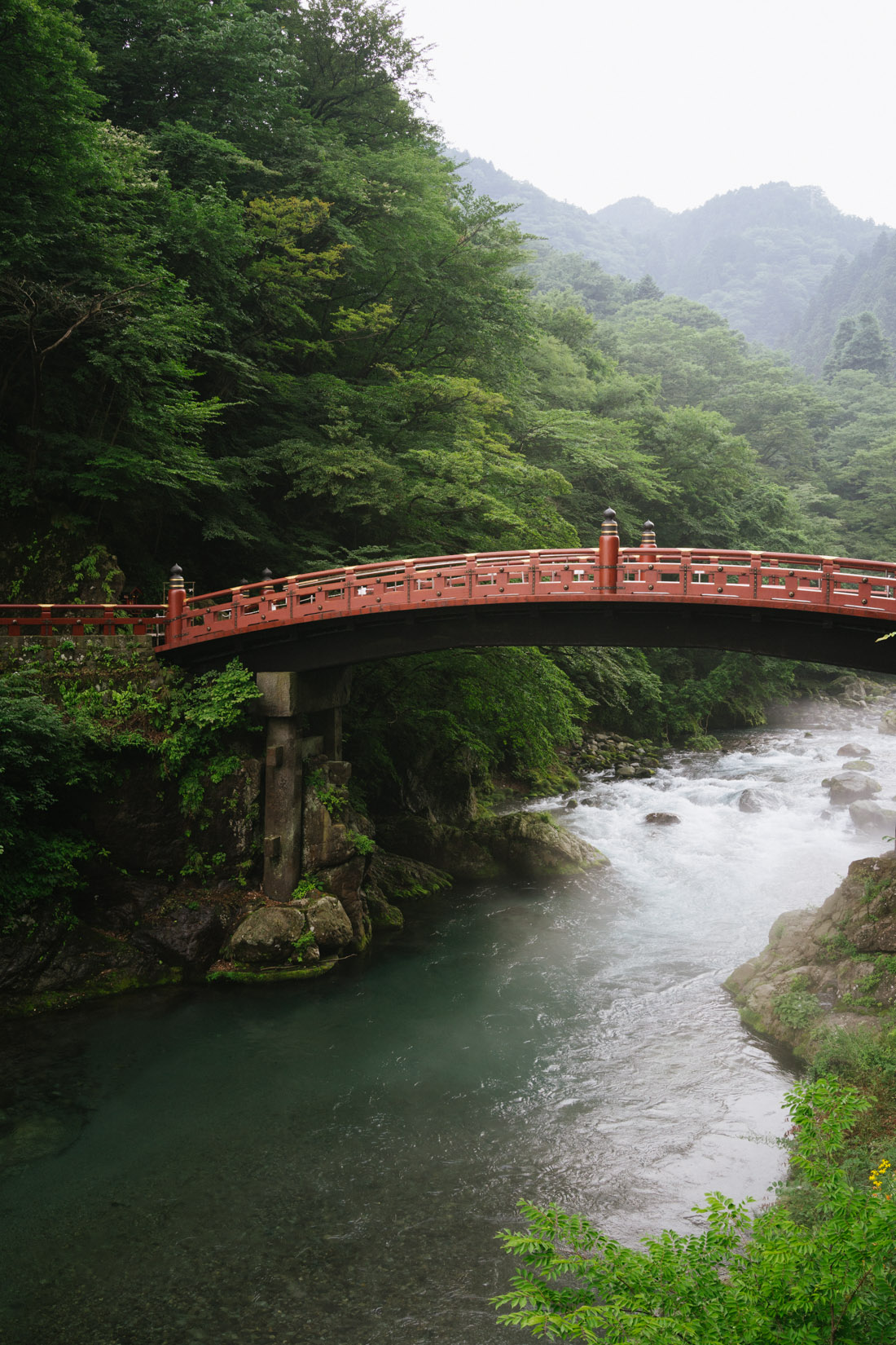 Shinkyo bridge, a magical sight.