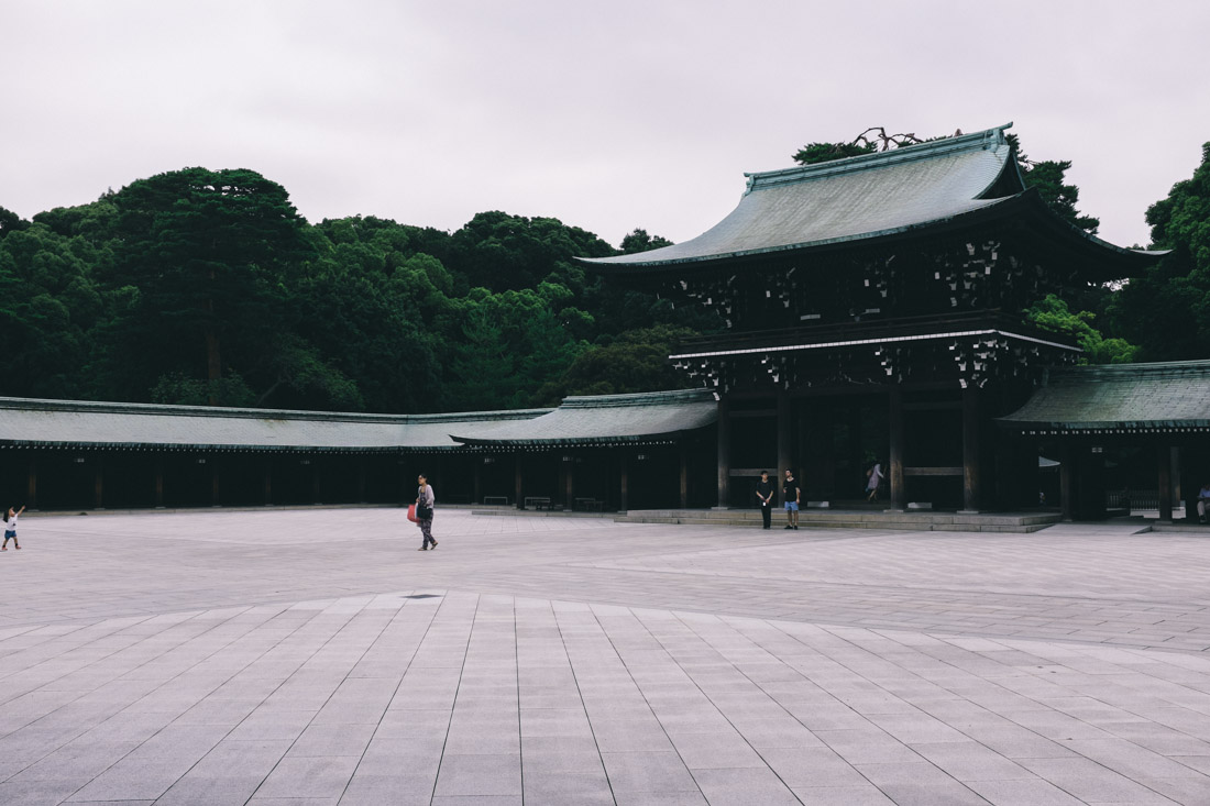 Meiji Shrine grounds