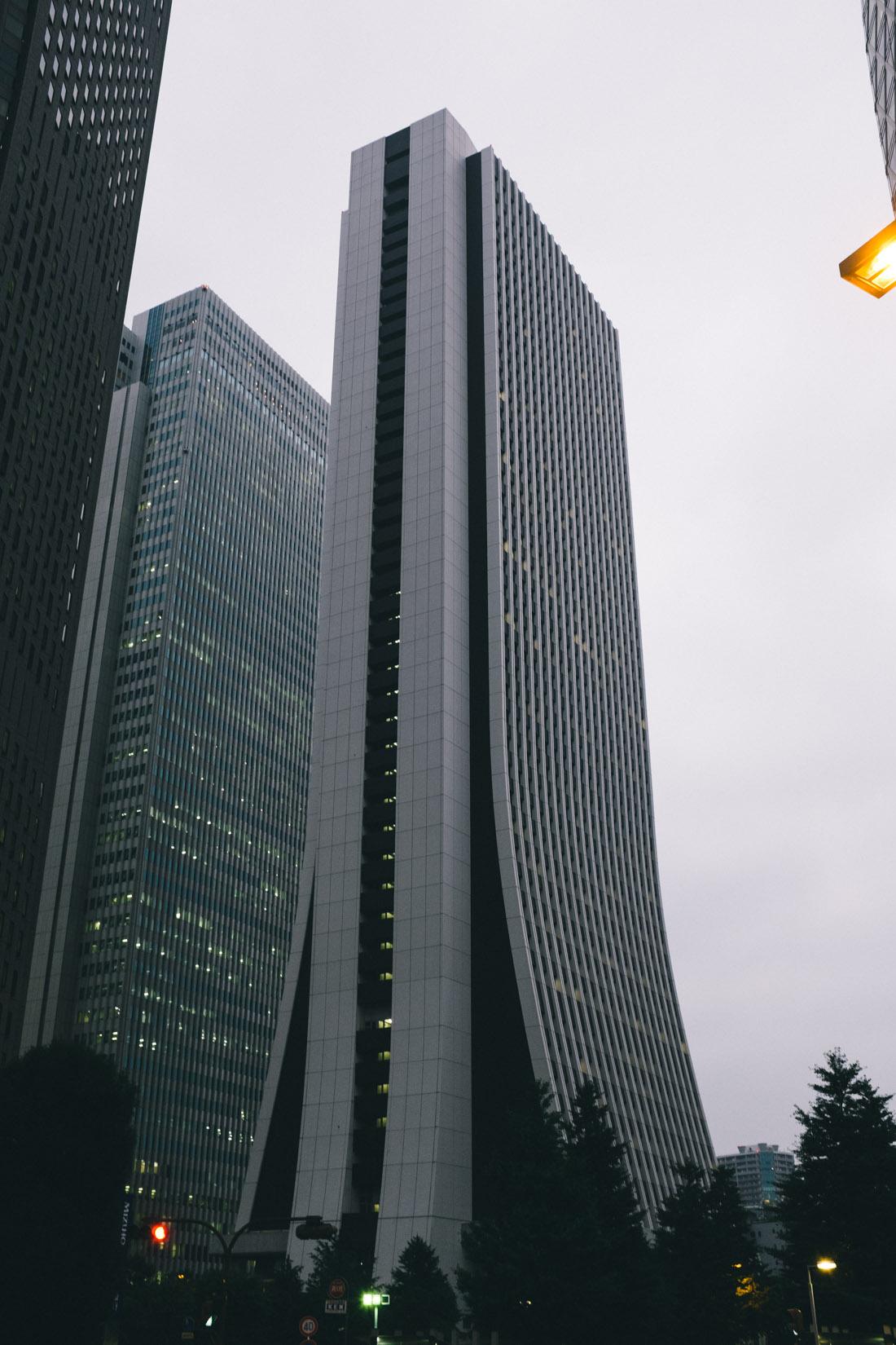 Elegant lines on Sompo Japan Insurance building