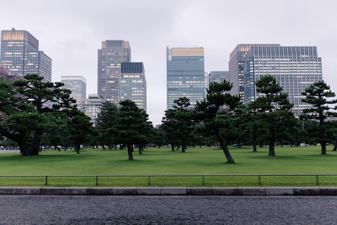 Very zen-like garden near the Imperial Palace.