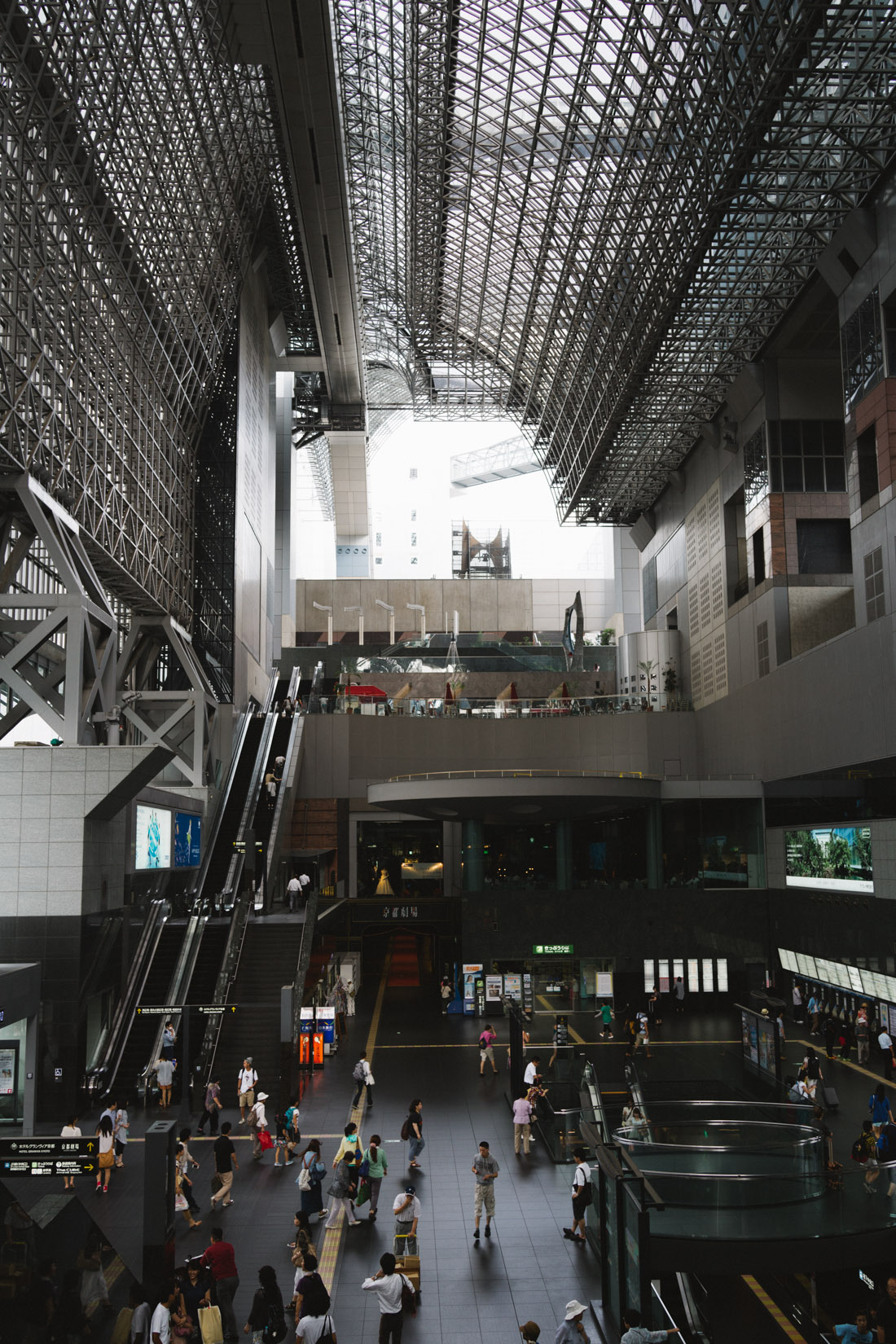 Saying the Kyoto station is huge is, quite frankly, an understatement.