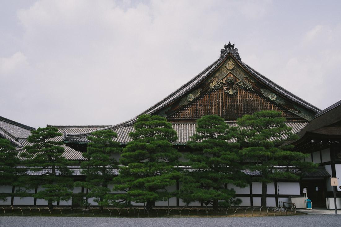 Ninomaru palace.