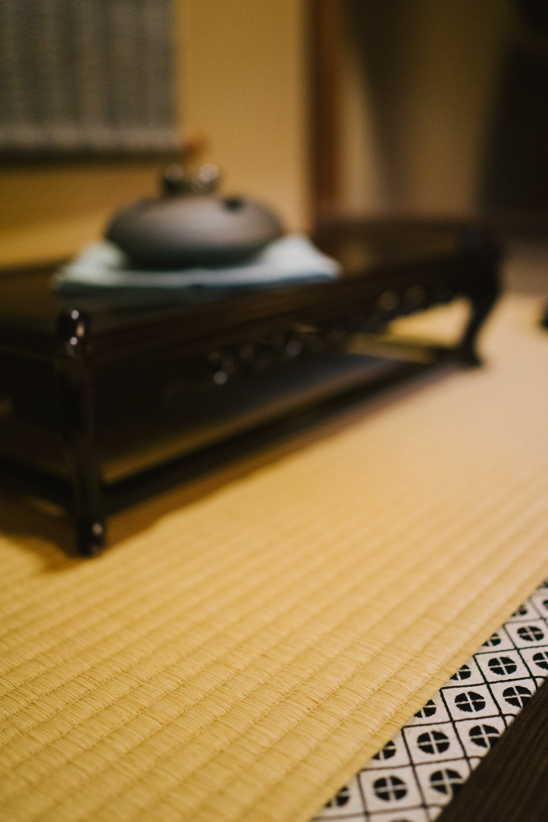 All the details, even the hemming of the tatami mats are exquisite.