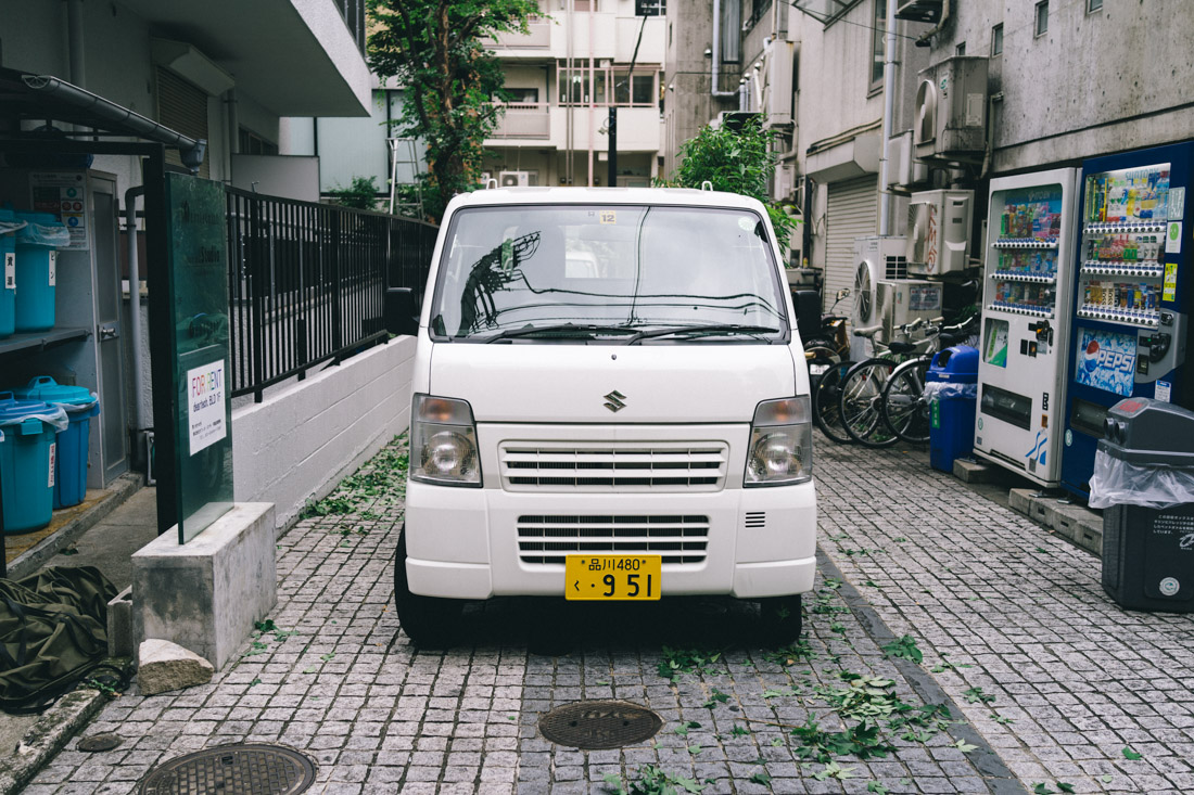 Most Japanese cars are pocket-sized. Not quite, but almost.