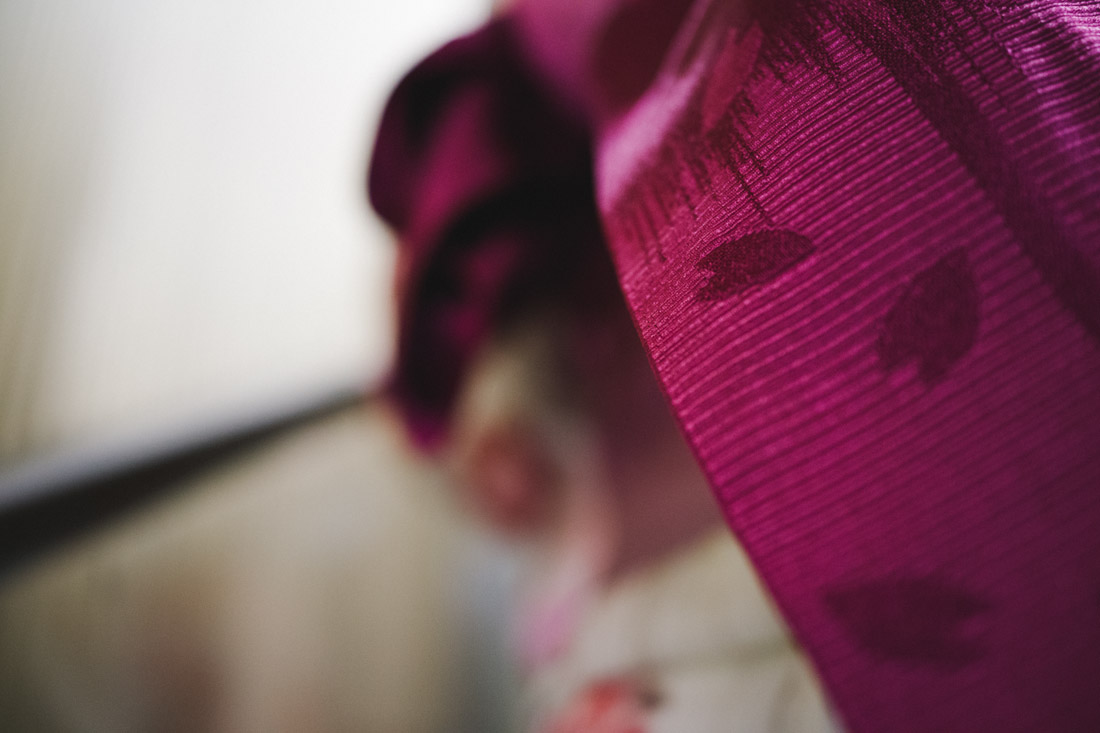 We started noticing quite a few Kimonos walking around.