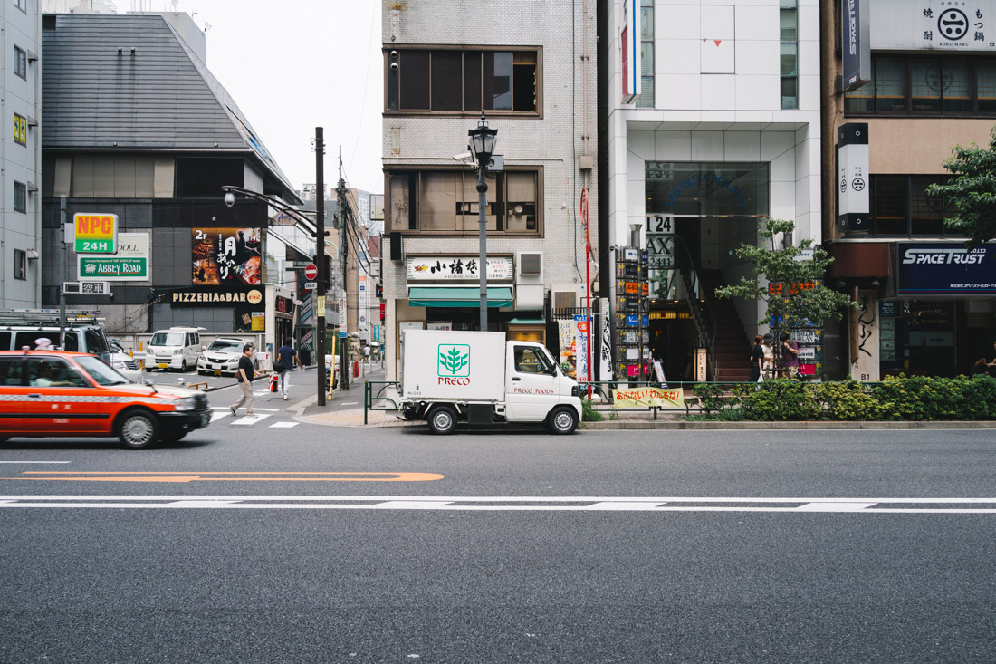 Roppongi is a shopping district with lots of big businesses too, but you can always find the smaller ones all over Tokyo.