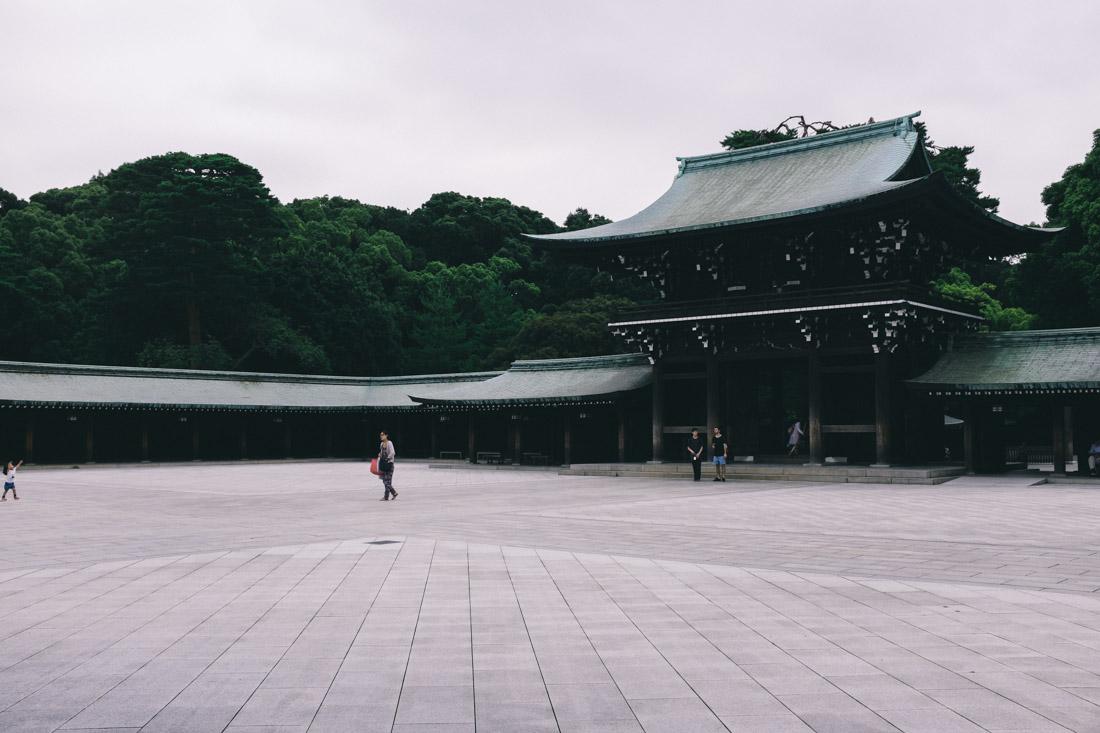 Meiji Shrine grounds